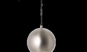 Đèn trần Ball màu nâu mờ