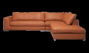 Sofa Amery da Santos màu caramel