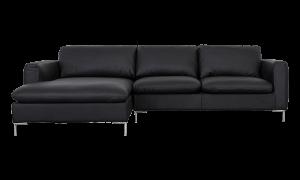 Sofa góc trái Talida da đen