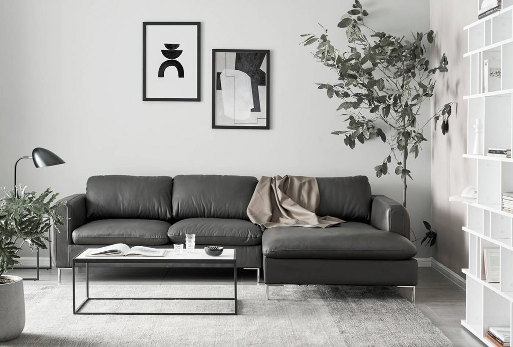 Sofa góc Talida - phối cảnh 1