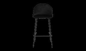 Ghế quầy bar Louise vải đen 1