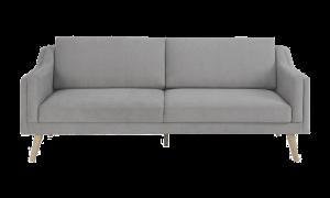 Sofa Montreal 3 chỗ vải xám cát 1