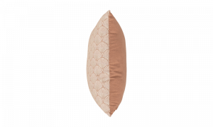 Gối cotton màu nâu in hoa văn 650002185 4