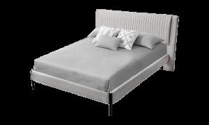 Giường Bonita màu xám