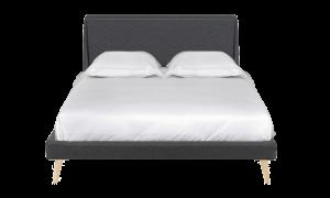 Giường Zenvo màu xám đậm