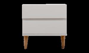 Tủ đầu giường Bergen màu trắng