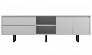 Tủ TV Bergen màu trắng