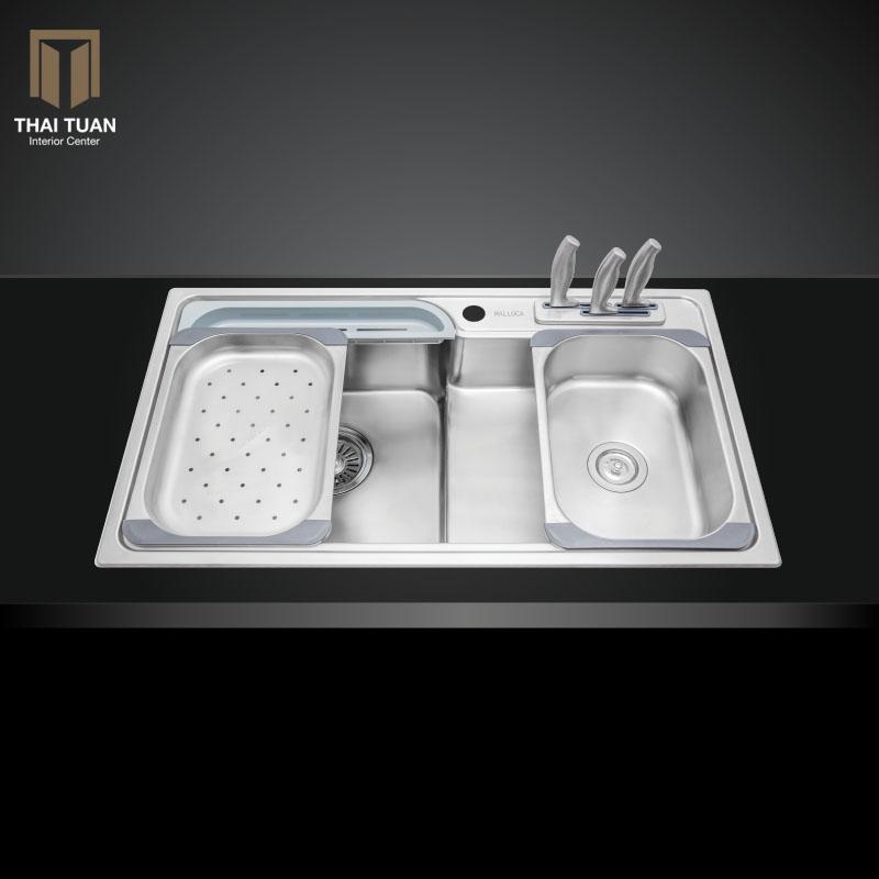Chậu rửa chén Malloca-MS-1028D