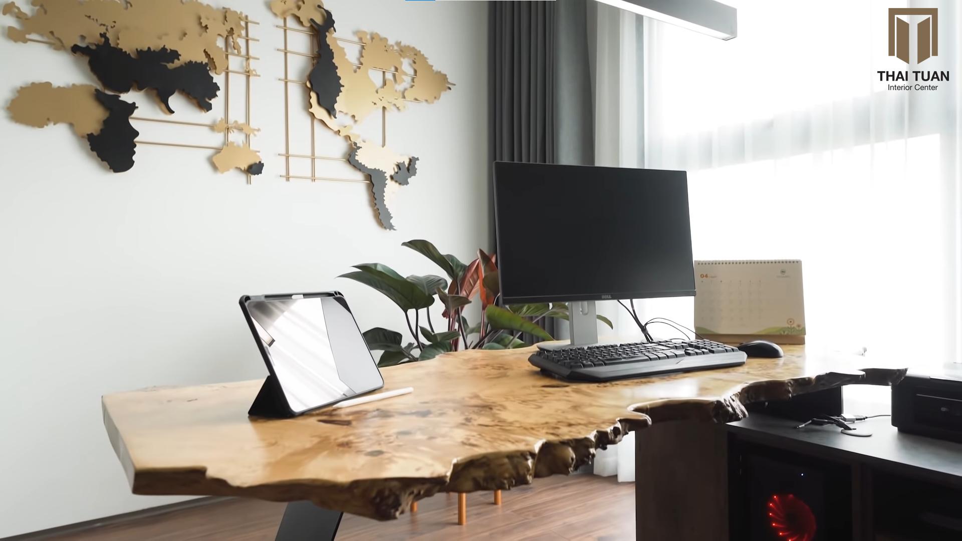 Phòng làm việc độc đáo