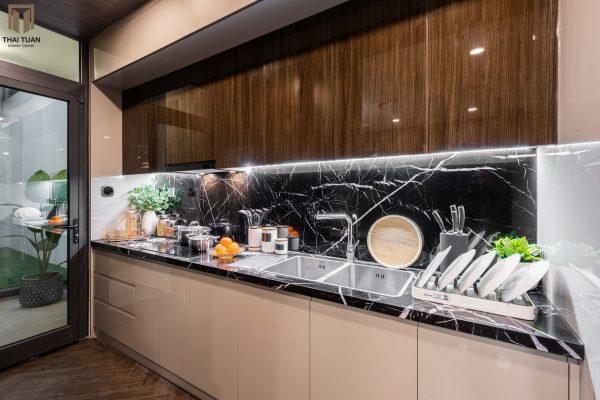 Phòng bếp tách biệt với không gian khách