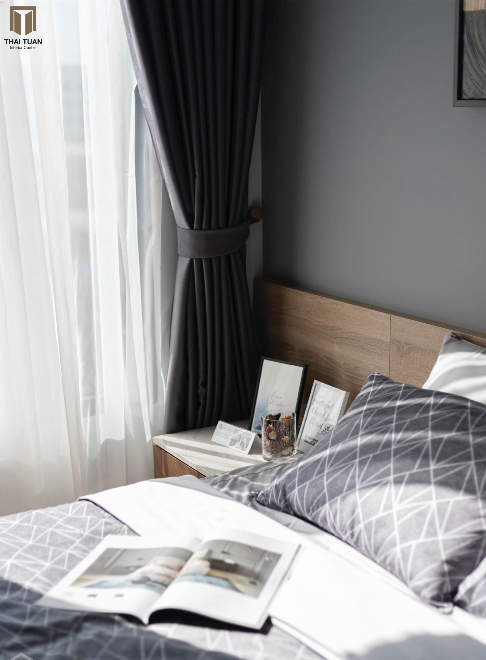Phòng ngủ tone màu trung tính