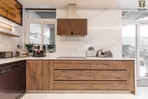 Phòng bếp rộng rãi