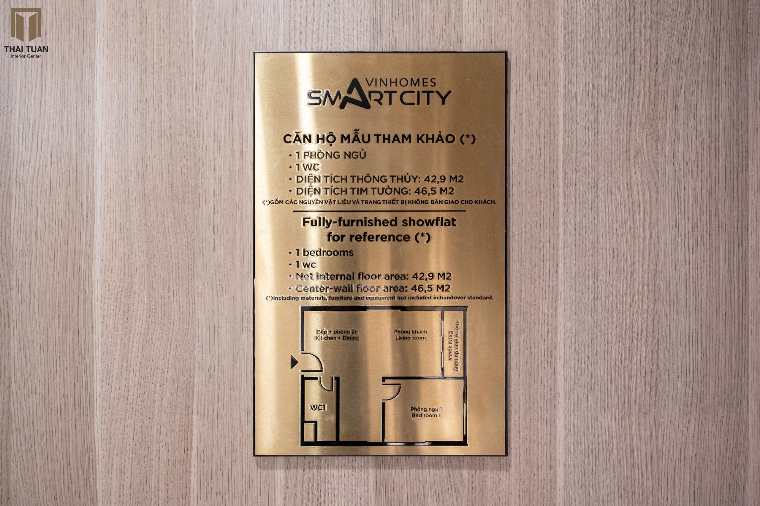 Căn Hộ 1 Phòng Ngủ Siêu Hợp Lý Tại Vinhomes Smart City
