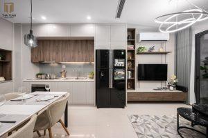 Phòng bếp ăn tiện nghi