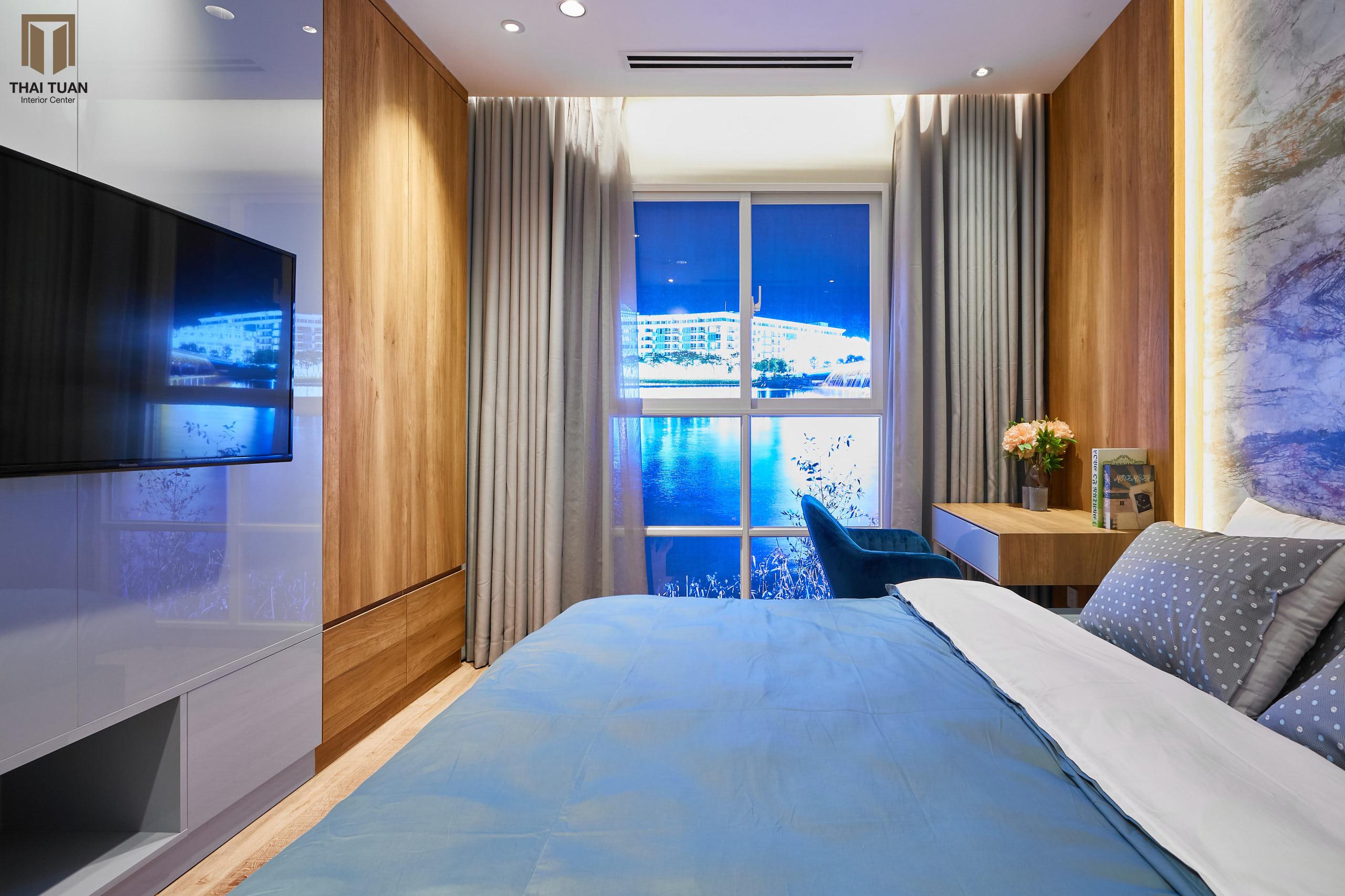Phòng ngủ master với đầy đủ tiện nghi