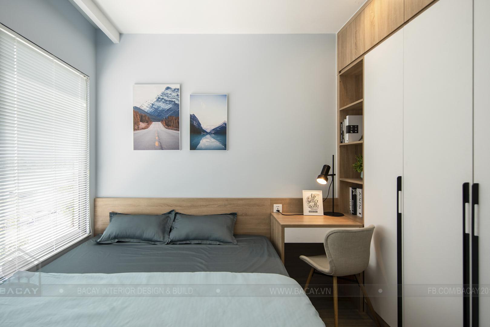 Phòng ngủ hài hòa màu sắc