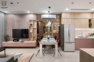 Không gian căn hộ tràn đầy cảm hứng
