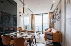 Phòng khách chan hòa ánh sáng tự nhiên