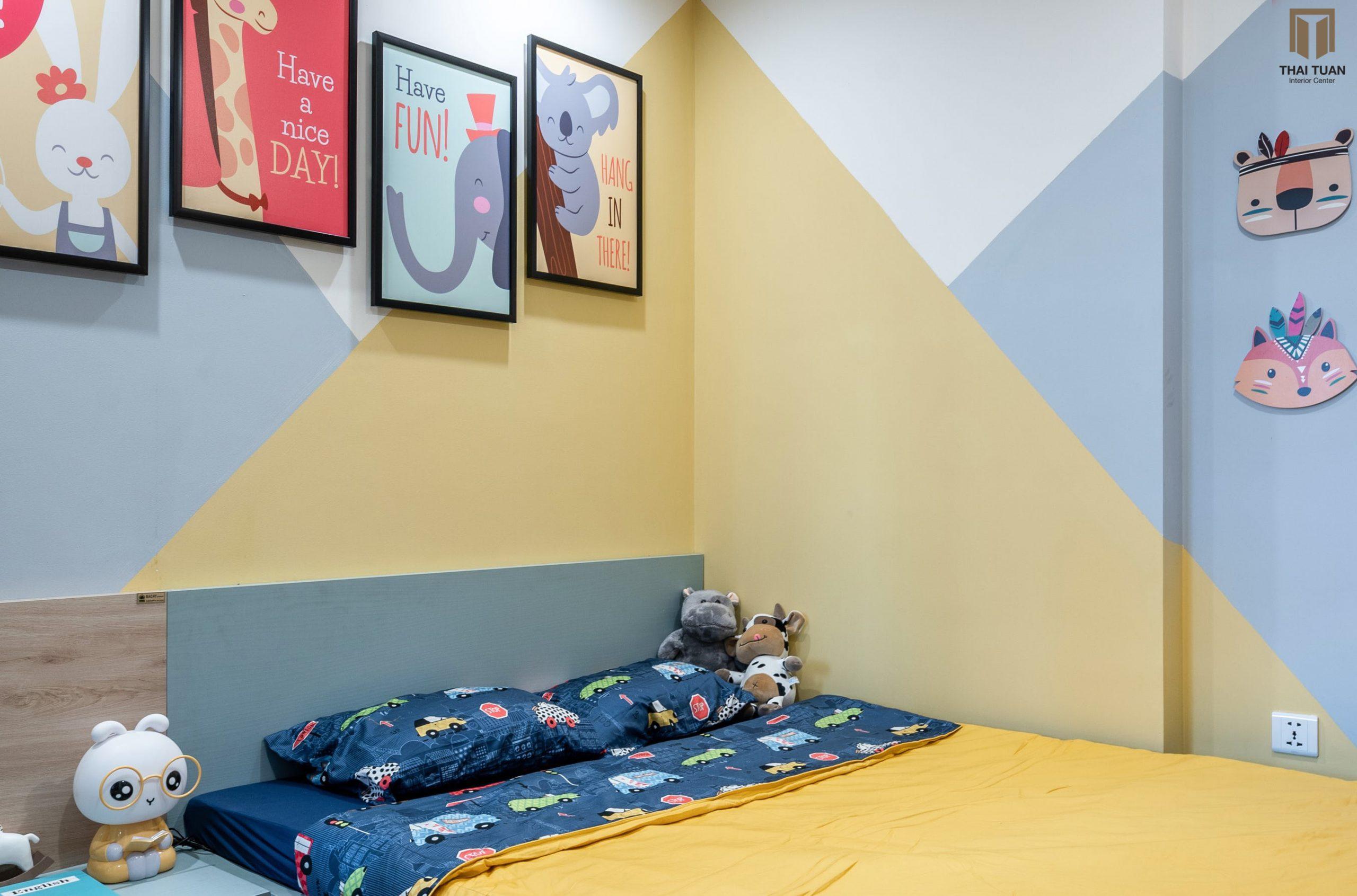 Phòng ngủ cho những ai yêu màu sắc rực rỡ