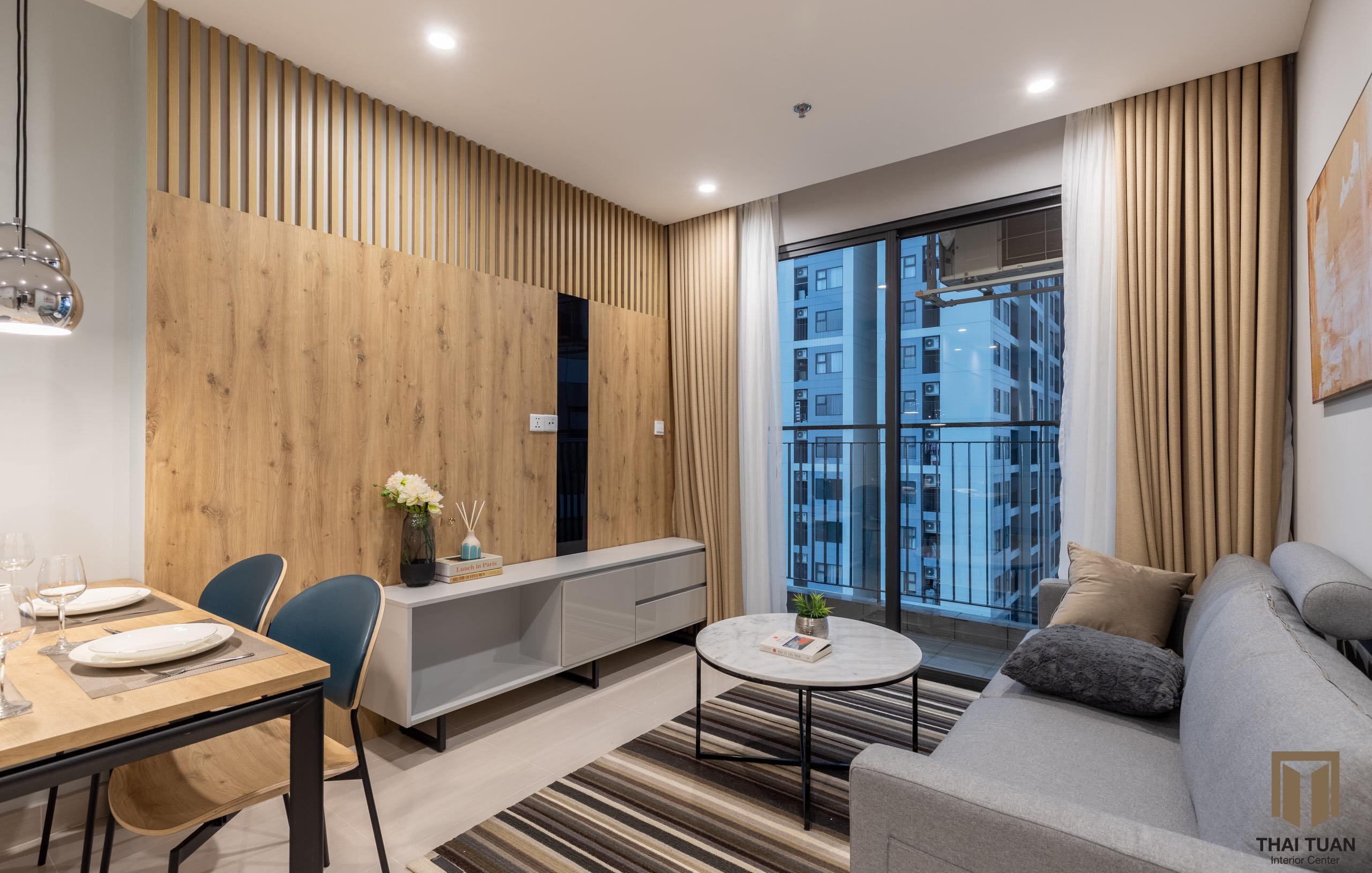 Phòng khách tối giản, hiện đại