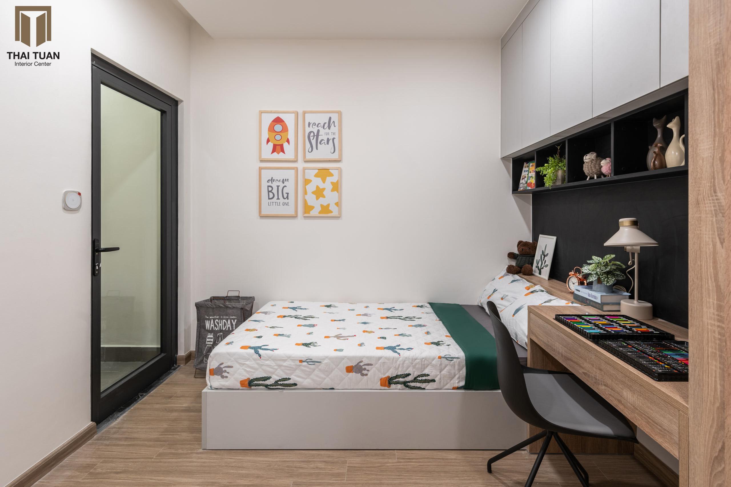 Phòng ngủ cho con tiện nghi