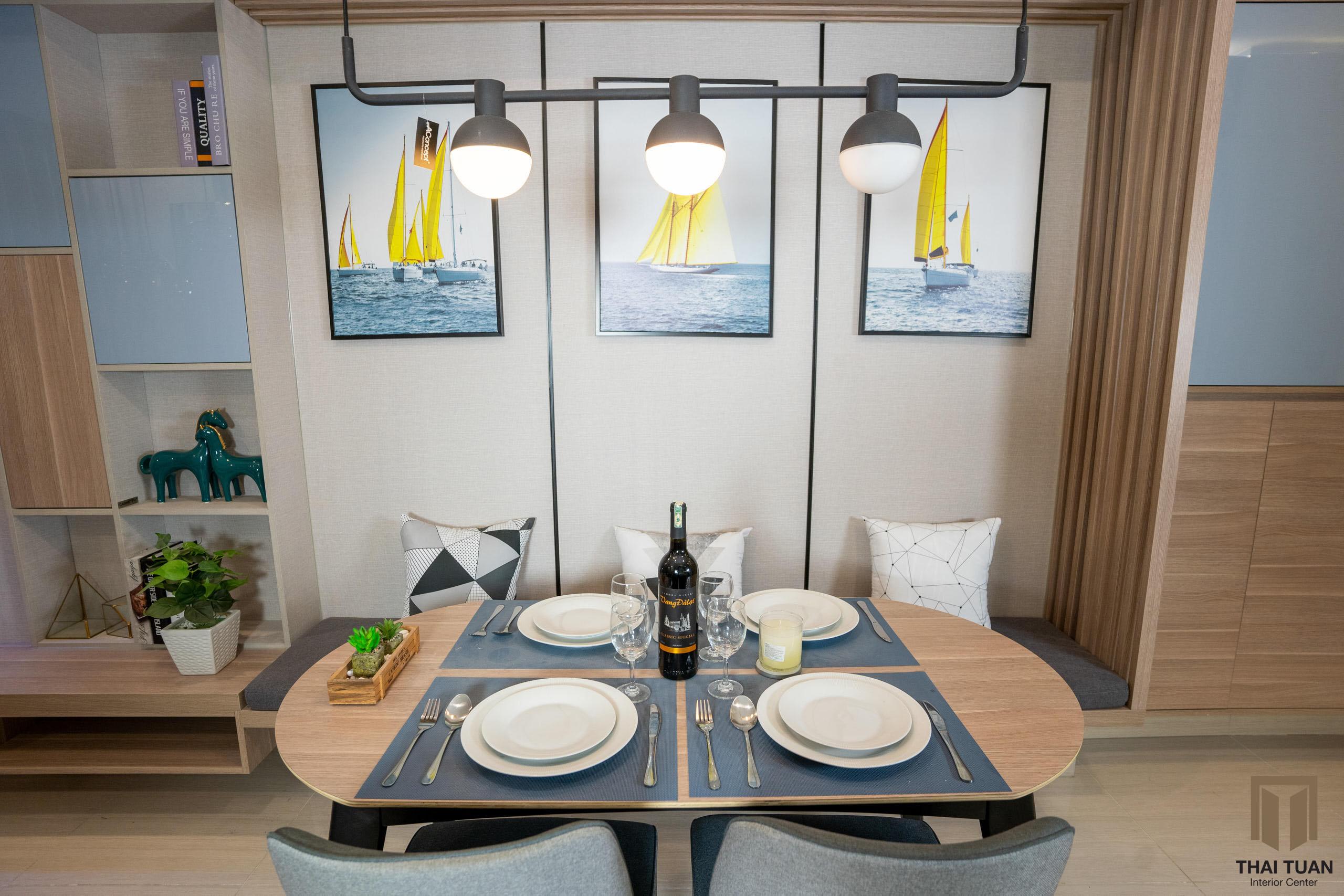Phòng ăn căn hộ Vinhomes Smart City