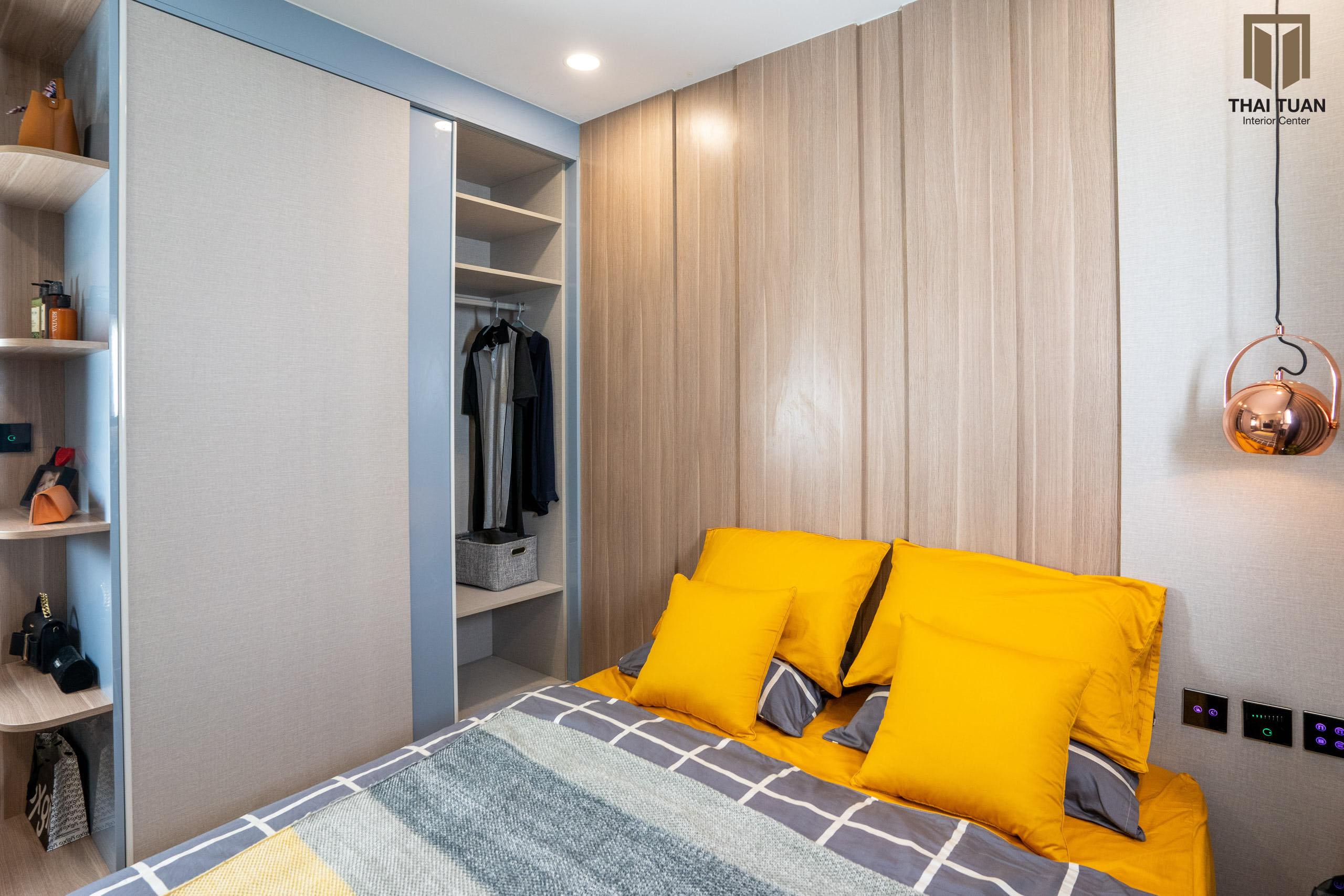 Phòng ngủ căn hộ Vinhomes Smart City