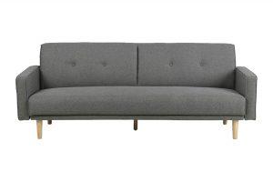 Sofa Kila vải Malmo màu xám