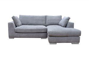 Sofa Amery góc phải vải Holly màu xám 830000332 1