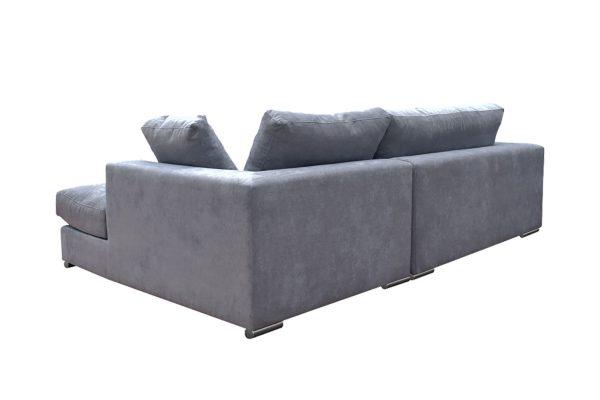Sofa Amery góc phải vải Holly màu xám 830000332 3