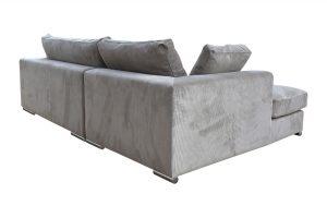 Sofa Amery góc phải vải wind màu be 830000333 3