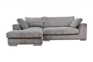 Sofa Amery góc phải vải wind màu be 830000333 1