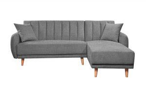 Sofa góc phải Bellemont màu xám cát 1