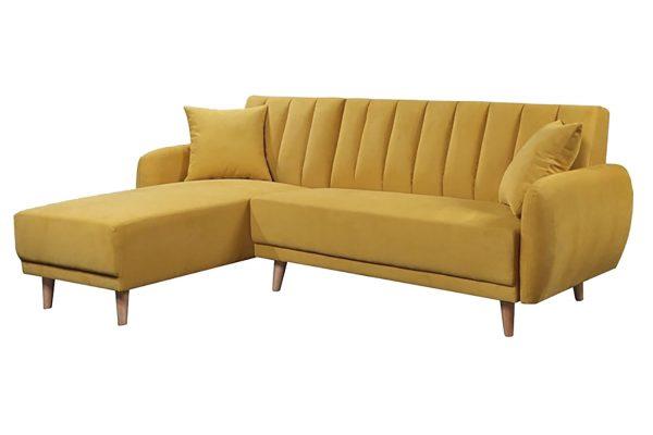 Sofa góc trái Bellemont màu vàng 2