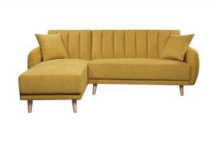 Sofa góc trái Bellemont màu vàng 1