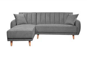 Sofa góc trái Bellemont màu xám cát 2