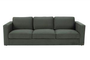 Sofa Calera 3 chỗ vải Max màu xám xanh 650002494
