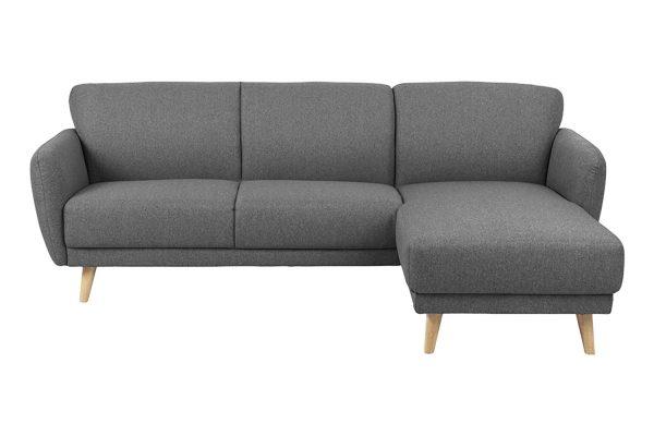 Sofa góc phải Ditte màu xám 1