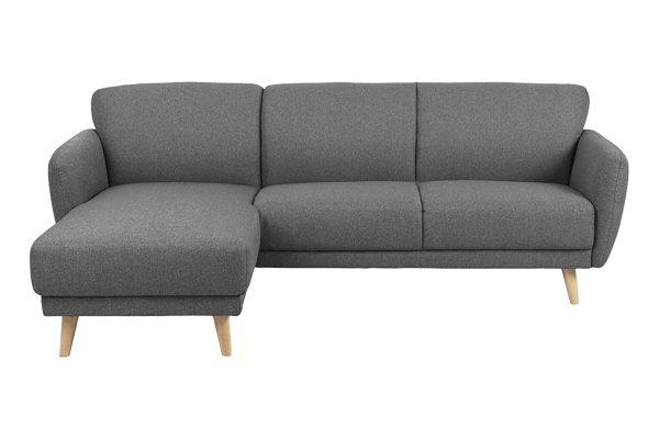 Sofa góc trái Ditte màu xám 2