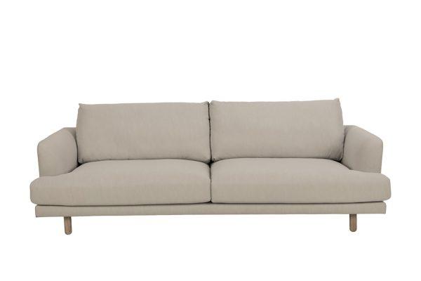 Sofa Virgina vải màu kem
